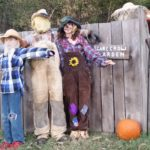 Delightful scarecrows